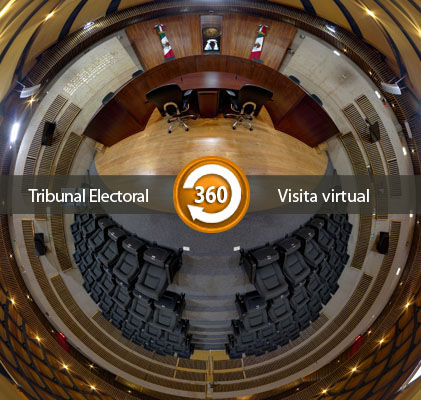 Visita virtual al TEPJF